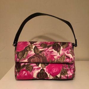 Kate Spade Rose Patterned Shoulder Bag